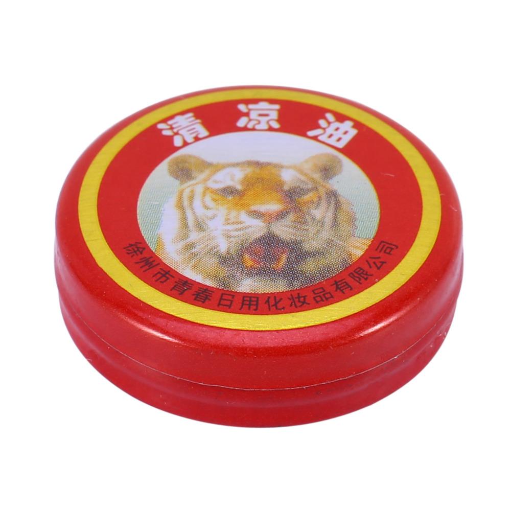 2017new 1 unids Tiger Balm Yeso Cremas Aceites Esenciales Bálsamo de Tigre Para Eliminación De Mosquitos Ungüento Dolor de Cabeza Fría Mareos