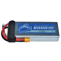 YOWOO RC Lipo 4s Battery 8000MAH 4s 14.8v 40c MAX 80c For RC AKKU Bateria Boat Car Helicopter Airplane Racing Drone Multicopter