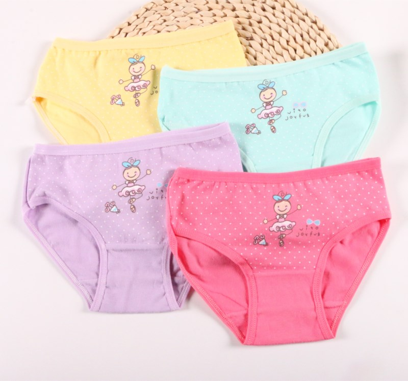 c6775f479c3 4pcs set Children s Briefs Cartoon Baby Girl Underwear Kids Pants Child  Girl for Boxer Shorts