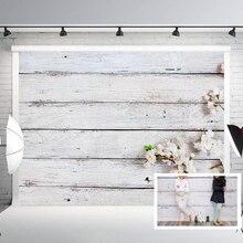 С белым деревянным полом фотофоны цветок цветочные стены Фотофон, ребенок для свадебной вечеринки с фотографией падение рисунок объявления таблички указатели B-28