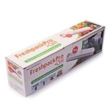 220 V Lebensmittel Lagerung Von Haushalt Home Elektrischen Vakuum-versiegelung Verpackungsmaschine Filme Sealer Vakuum-packer Enthalten 15 Stücke Taschen