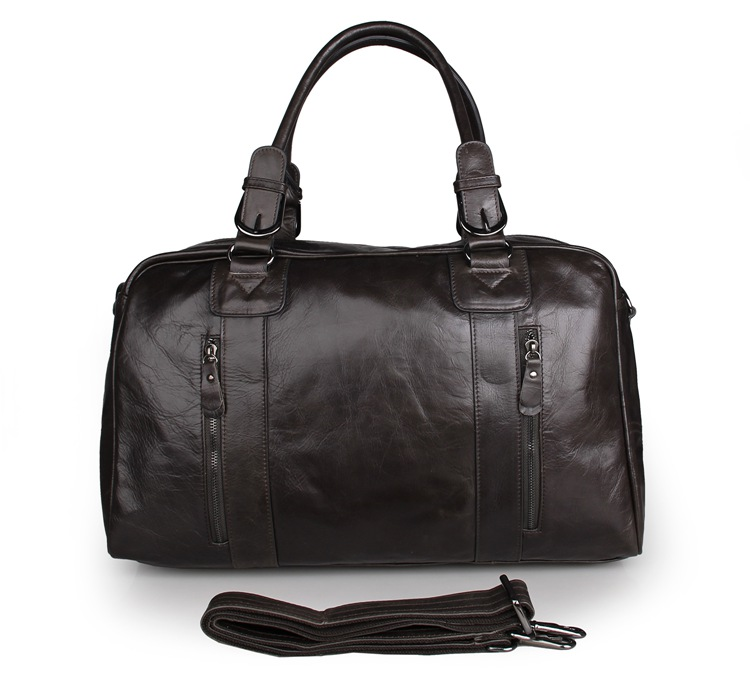 de0b8846e783 Newest Fashion High Quality JMD 100% Genuine Leather Men Travel Bags Handbag  Totes Luggage 7190J-1