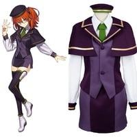 Fate Grand Order Cosplay Protagonist Ritsuka Fujimaru Cosplay Costume Halloween Carnival School Girl Uniform Cosplay Costume