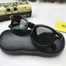 Fashion Johnny Depp Sunglasses Men Women With Case&Box Luxury Brand Designer Sun Glasses For Male Female Oculos de TJ0003