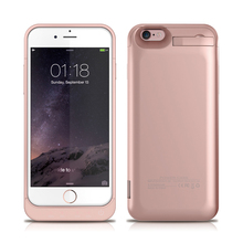 Power Bank External Battery case Pack for Iphone 6 6s 5800mah Carrying Charger Case Wireless Charging Case for Iphone 6 6s