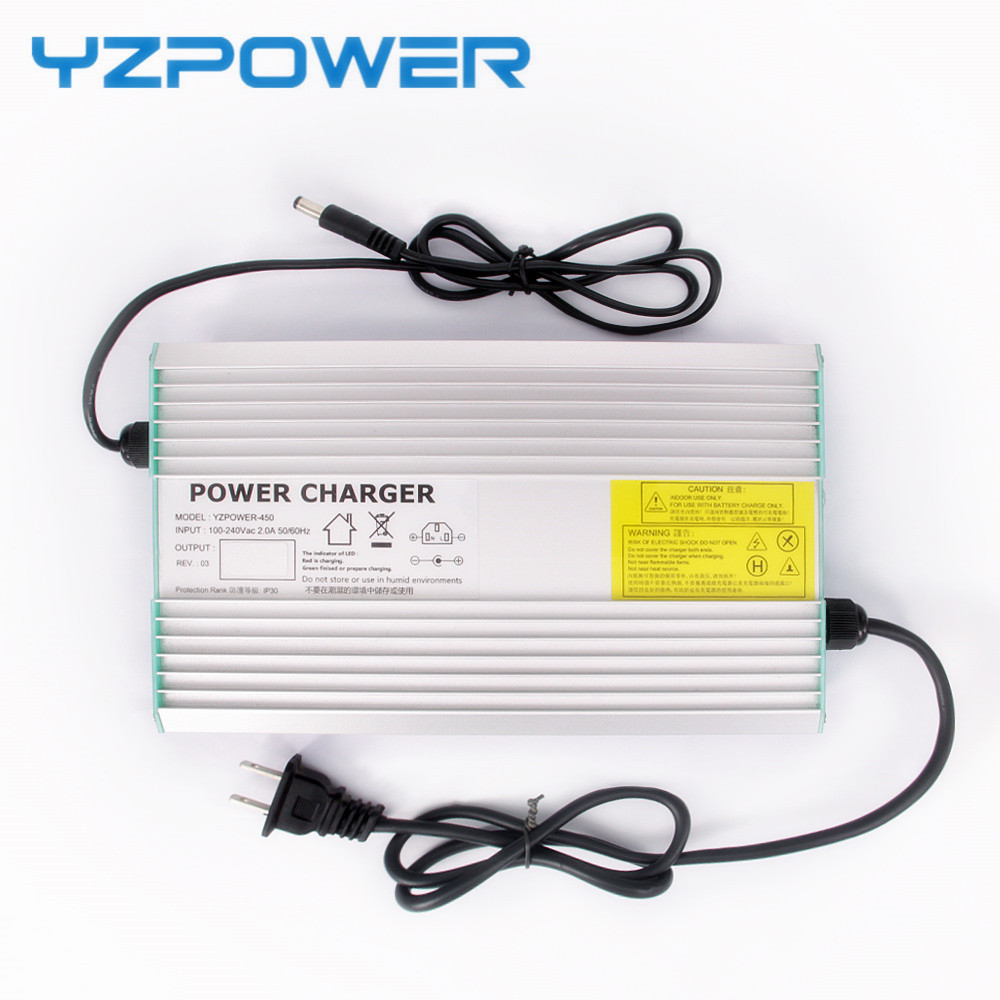 YZPOWER 67 2V 5A Lithium Battery Charger for 60V Li ion Polymer Scooter With CE ROHS