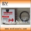 Para del motor Yanmar diesel 4D98E 4TNV98 4TNE98 pistón anillo 129903-22050 129907-22050