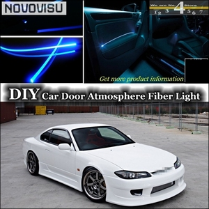 NOVOVISU For Nissan Silvia S13 S14 S15 200SX 240SX interior Ambient Light Tuning Atmosphere Fiber Optic Band Lights Decorative Lamp     -