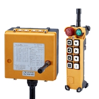 Wireless crane remote control, industrial remote control electric hoist ,crane pendant controller F26 A1, 8 buttons