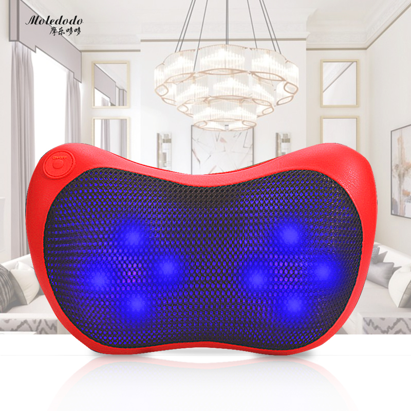 Moledodo Health Care Massager Body Massager Physiotherapy Multifunctional car massager Cervical lumbar massage cushion D50 moledodo multifunction shoulder knock massager neck waist back vibrate massage cervical health care pain relief relaxation d50