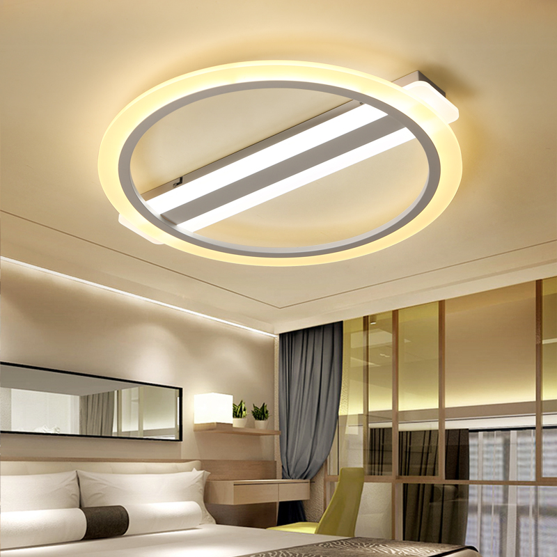 Modern LED Nordic ceiling lights Creative Fixtures children bedroom Acrylic ceiling lamps Novelty Iron Round Ceiling lighting