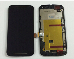 LCD Display Touch Screen Digitizer Assembly with Frame For Motorola MOTO G2 XT1063 XT1068 XT1069 replacement parts new lcd display touch screen digitizer with frame for motorola moto g2 g 2nd xt1063 1064 1068 1069 free shipping