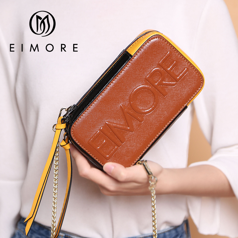 2018 Fashion Girls Famous Brands Designers Shoulder Bags Ladies Small Crossbody Bags Genuine Leather Women Mini Bags For Phone fashion women patent leather messenger bag handbag ladies small crossbody bags women famous brands designers shoulder bags girls