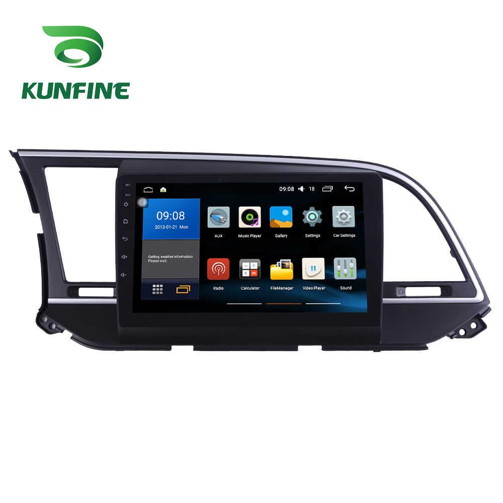 Octa çekirdek 1024*600 Android 8.1 araç DVD oynatıcı GPS navigasyon oynatıcı Deckless araba Stereo Hyundai Elantra 2016-2019 için radyo ana ünite