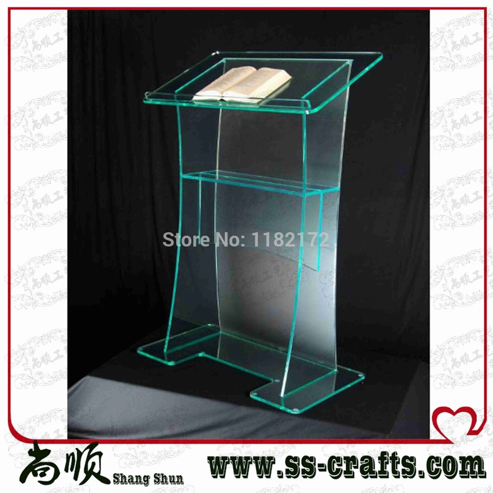 Unique Design Hot Sale And Modern Modern Design Acrylic Digital Lectern