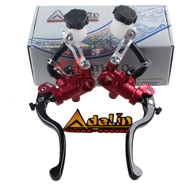 ADELIN motorcycle brake master cylinder 17.5x18mm for Hydraulic  disk brake FOR HONDA R6 FZ6 GSXR600 ZX-6R Z800 YAMAHA KAWASAKI