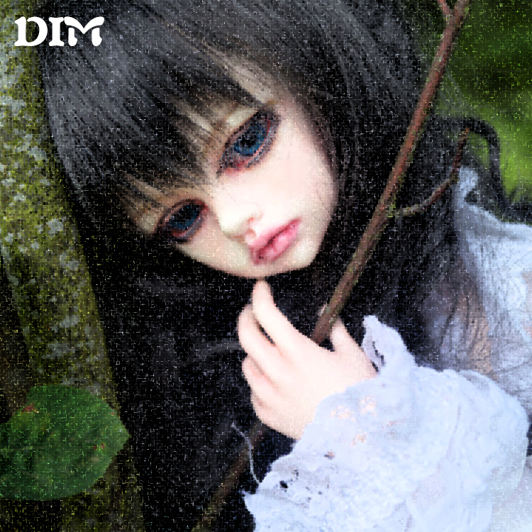 New arrival DIM 1 4 Kassia bjd sd dolls 1 4 body model girls boys eyes