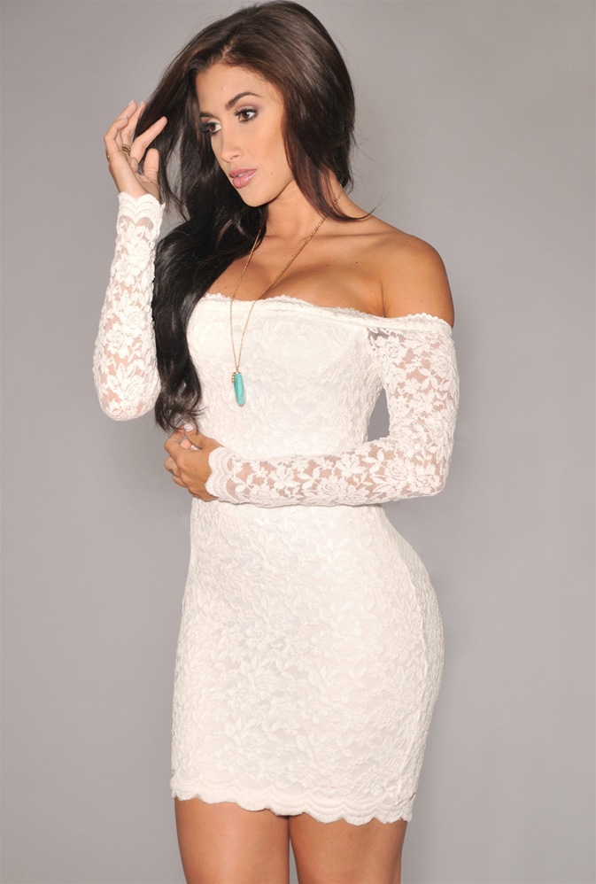 Popular White Tight Strapless Dress-Buy Cheap White Tight ...