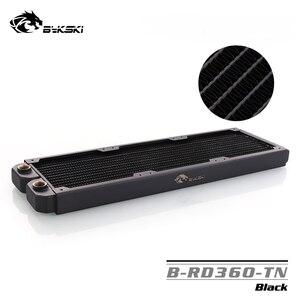 Image 1 - B RD360 TN Bykski, grzejniki 360mm jeden rząd, grubość 29mm, standardowe chłodnice wodne, odpowiednie dla wentylatorów 120*120mm
