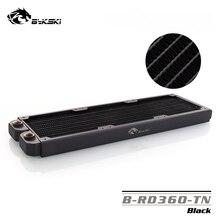 Bykski B RD360 TN, 360mm tek sıralı radyatörler, 29mm kalınlık, standart su soğutma radyatörleri, uygun 120*120mm fanlar