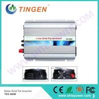 TEG 300W Solar grid tie inverter 300W 300watts Free Shipping DC 10.8 28V input to AC output 190 260V