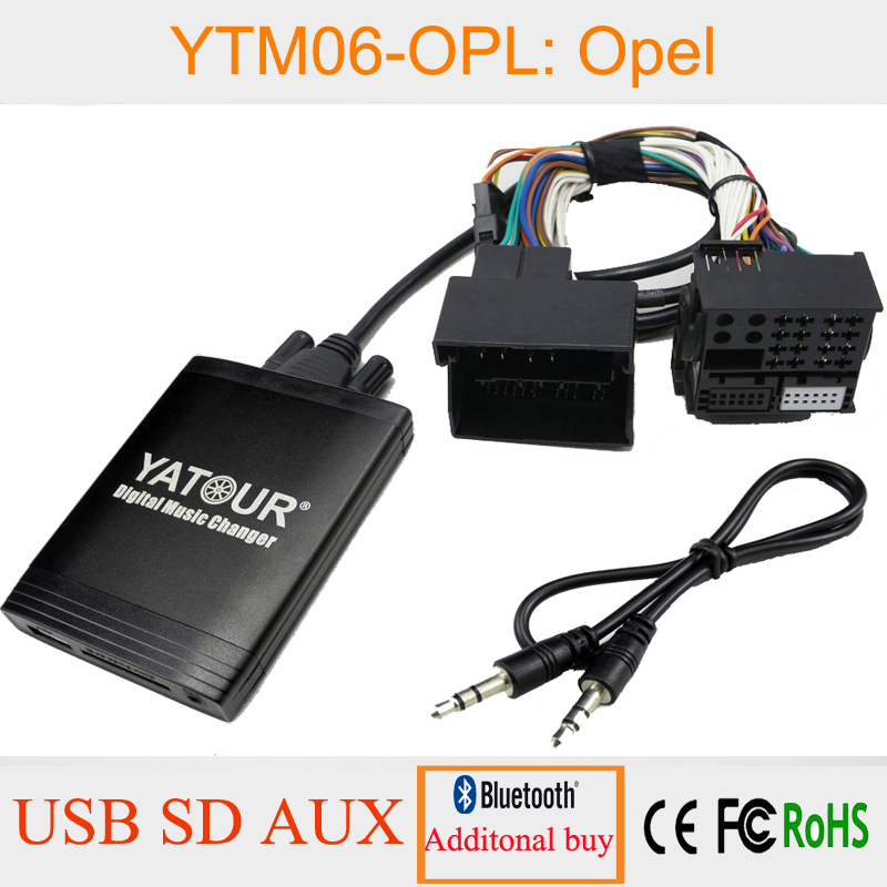 Harness Yatour mt-06 compatible with 8 Pin CD Changer DMC SCSI Interface