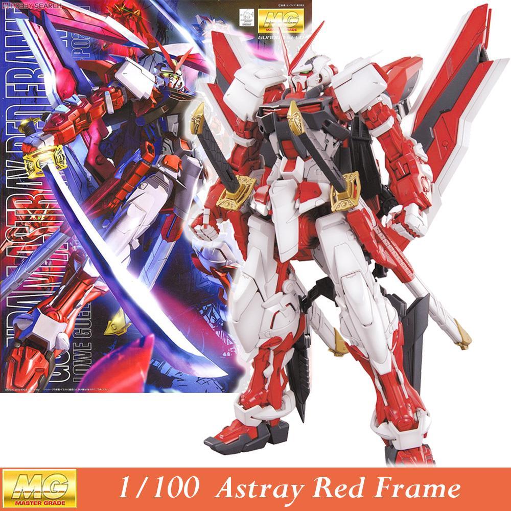 Daban Modèle MG Gundam Astray Red Cadre MBF-P02 KAI 1/100 Japonais anime assemblé Kits PVC Figurines robots enfants jouets