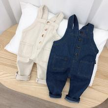 132c3fb4a041 2019 Spring Autumn Toddler Baby Overalls Pants Trousers Infant Denim  Jumpsuit Bebe Girls Boys Jeans Pants