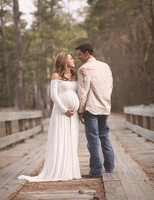 Maternity Dress For Photo Shoot Long Sleeve Maternity Gown SPLIT FRONT Maternity Gown Maxi Pregnant Gown