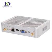 Без вентилятора Pocket PC неттоп Core i3 4005u двухъядерный/Celeron n3150 4 ядра Мини ПК Графика HDMI VGA Destop компьютер Оконные рамы 10