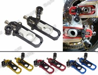 Motorcycle Chain Adjusters With Spool Tensioners Catena For Suzuki GSXR1000 GSXR 1000 2009 2010 2011 2012