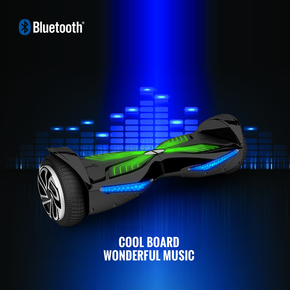 Two Wheels Design 2017: 2017 Koowheel Bluetooth Hover Board 6.5 Inch Electric
