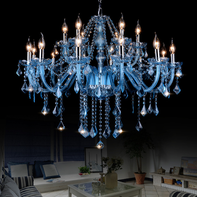 plc chandelier blue light suite wilkinson big adam crystal