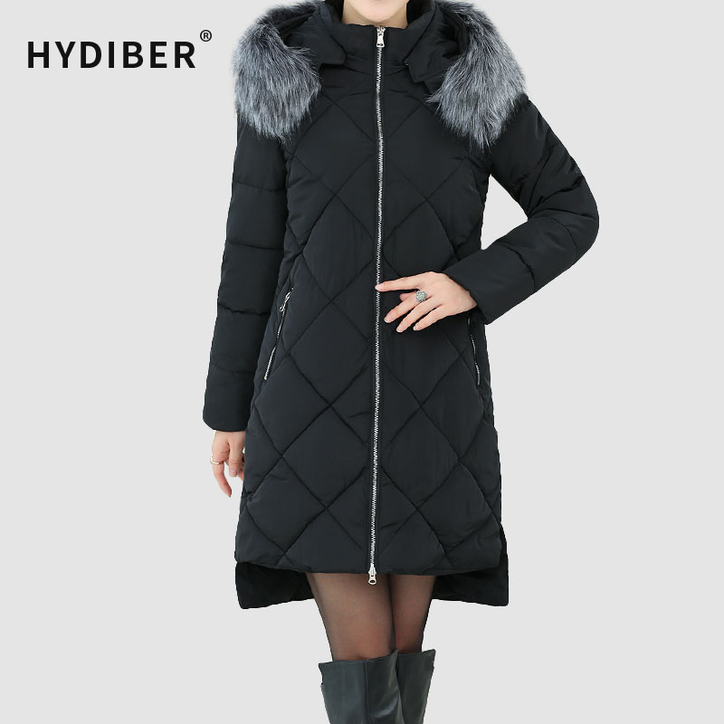 Подробнее о Large Plus Size Winter Thick Coat Women Black Jacket Long Parkas Hooded Fur Collar Cotton Padded Women Jackets Wadded Outerwear new winter jacket men cotton parkas padded long black thick warm casual hooded fur collar jacket coat outwear zipper jackets