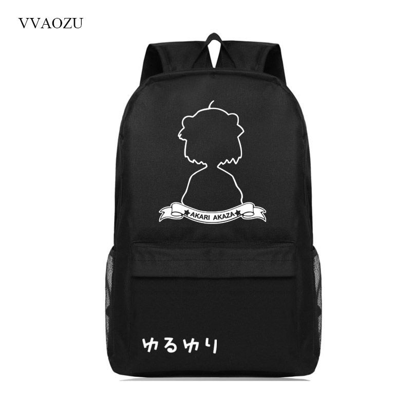 Yuru Yuri Yuruyuri Backpack Women Men College Student School Bags Mochila Casual Travel Laptop Rucksack Backpacks Bookbags new 2016 brand high quality leather backpack men casual laptop backpacks college style school book bags mochila rucksack 112zs