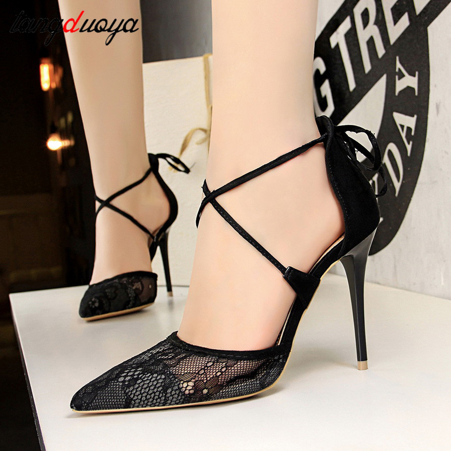 sexy high heels women shoes for party shoes women pumps pointed toe thin heels pumps ladies high heel shoes 2019 sapato feminino basic pump