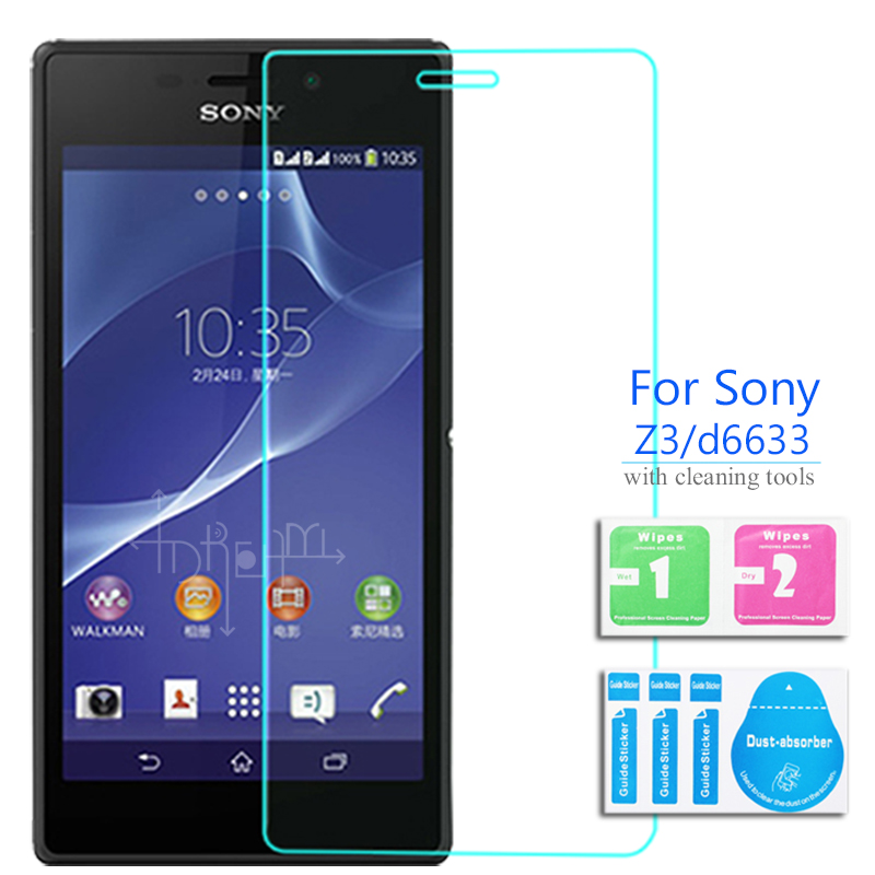 """2PCS """"Sony Xperia Z 3"""" grūdinto stiklo ekrano apsaugai 2,5 9h - Mobiliųjų telefonų priedai ir dalys - Nuotrauka 1"""