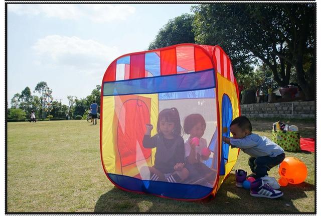 Tenda dei bambini casa gioco per bambini giocattoli indoor e outdoor