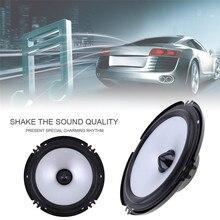 2 шт 6,5 дюймов Автомобильный Динамик 60 Вт 88дб Авто коаксиальный HiFi динамик s аудио для автомобиля полный диапазон частоты динамик громкий динамик