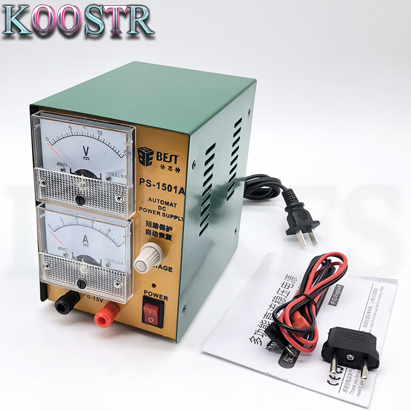 DC Regulated Power Supply Repairing Power Supply For Mobile Phone Repair Tool BST-1501A