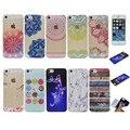Bela plum blossom roxo teste padrão de borboleta macio tpu silicone case para apple iphone 5 5s se telefone capas protetoras