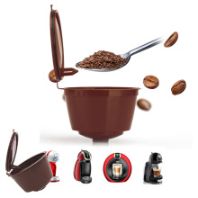 Refillable Dolce Gusto Coffee Capsule Reusable Dolce Gusto Coffee Filter Compatible with Nescafe Dolce Gusto Refill