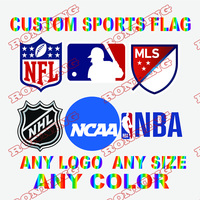 US $3 98 |Aliexpress com : Buy Custom sports Flag Any Size Brand Company  Logo Outdoor Banner Customize Flags brass grommets,free shipping from