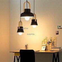 цена Nordic Creative Restaurant Pendant Lamp American Style Simple Living Room Bedroom Pendant Lights Loft Novelty Decor Hanging Lamp в интернет-магазинах