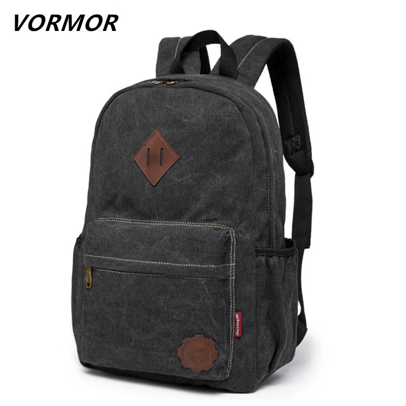 2017 Men Male Canvas Backpack College Student School Backpack Bags for Teenagers Vintage Mochila Casual Rucksack Travel Daypack large capacity 15 6 inch laptop backpack men nylon college student school bags for teenager mochila women casual travel rucksack