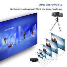 Mini Projector E05 Android 4.4 Quad-Core CPU WIFI TV Box HD LED DLP Multimedia Projectors 1GB RAM 8GB ROM 3 Colors цены