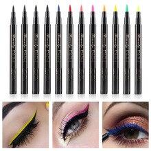 Кошачий водостойкий макияж для глаз, неоновая цветная жидкая подводка для глаз, ручка для макияжа, Стойкая подводка для глаз, карандаш, инструменты для макияжа