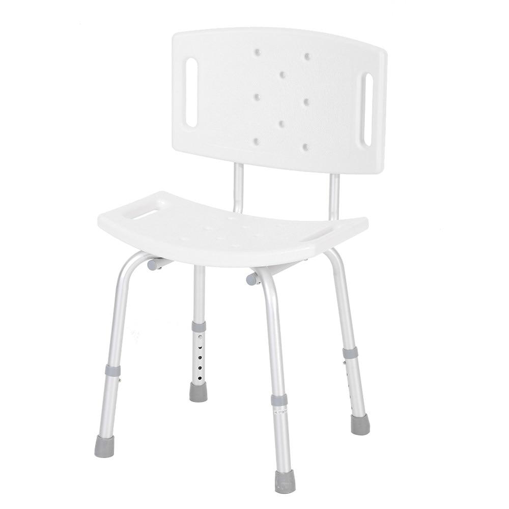 Online Shop 2 in 1 Design Medical Shower Chair Stool Detachable ...