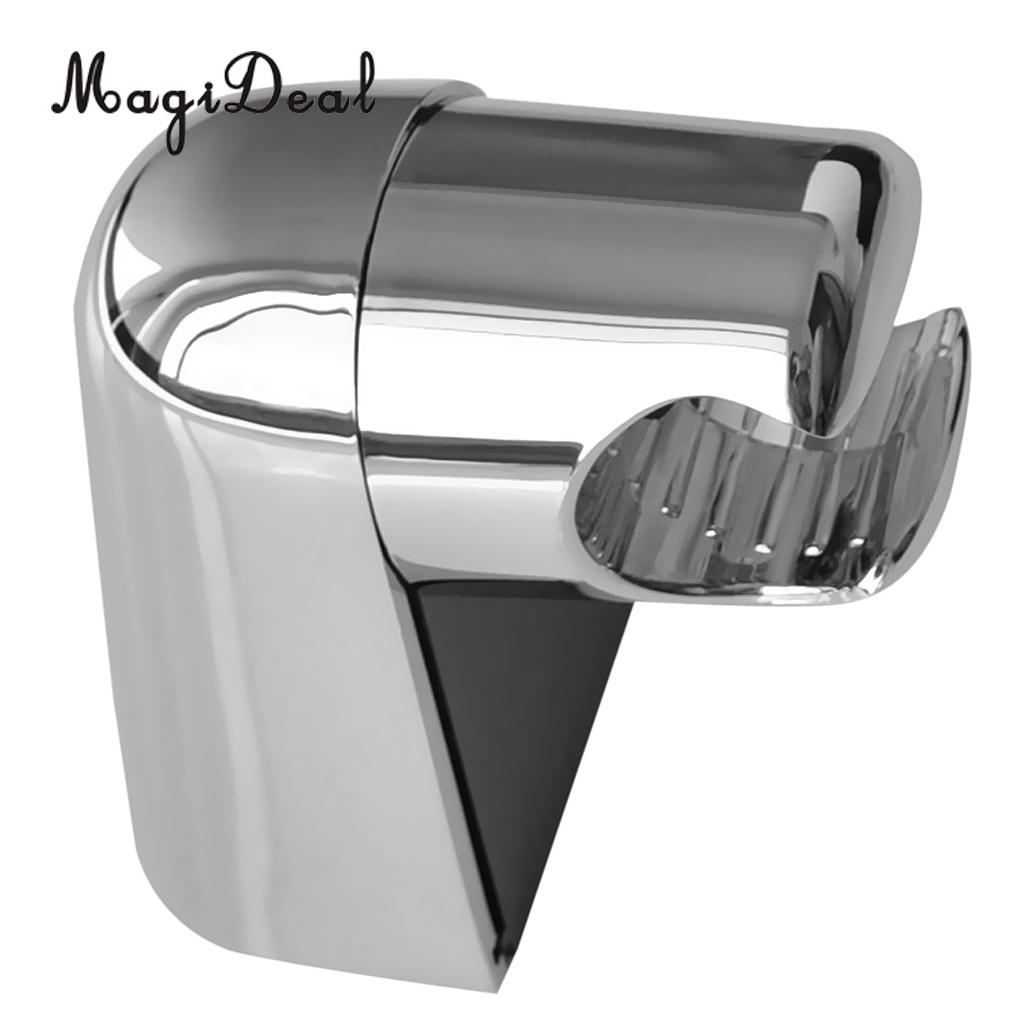 MagiDeal Adjustable Fashion and Modern Bath Handheld Shower Spray Head ABS Material Wall Mount Bracket Holders