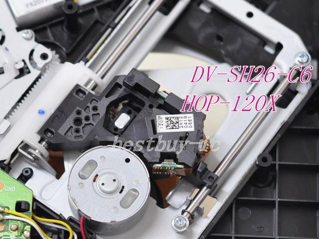 120X DVD optical pick up mechanism HOP-120X /12X HOP-120X laser head DV-SH26-C6